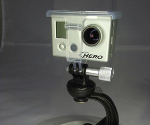 Convert a Cellphone Mount to Support a GoPro