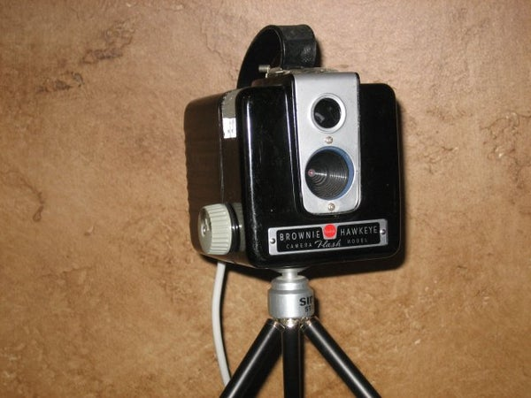 Old Camera Houses a Webcam