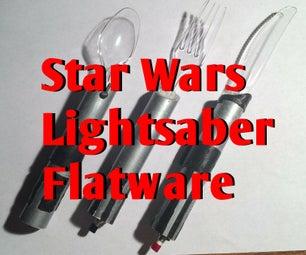 Star Wars Lightsaber Utensils