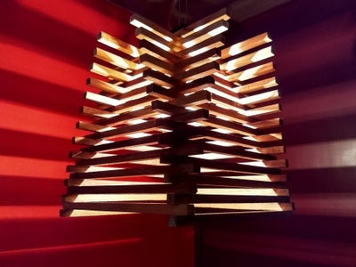 Unique and Easy to Make Handmade Wooden Sticks Pendant Lamp
