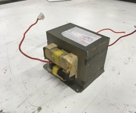 Microwave Transformer Electromagnet