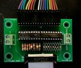 16 Channel ULN2XXX Darlington Transistor Array Breakout Board