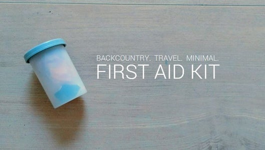 Backcountry First Aid Kit