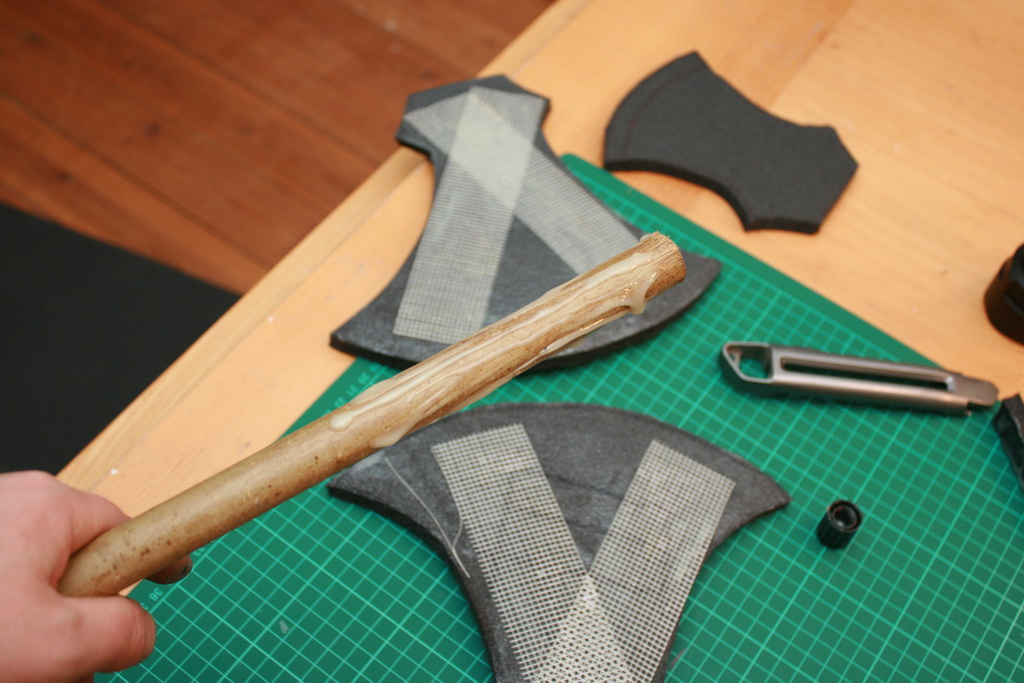 Picture of Reinforcing and Gluing
