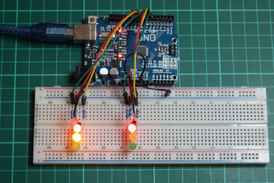 Picture of Arduino Traffic Lights