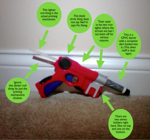 Picture of I have an unknown Nerf gun...