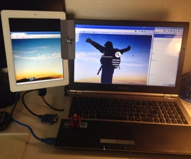 Dual Screen Mount for Tablet