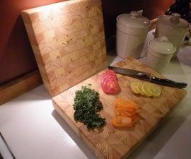 2x4 End Grain Cutting Board / Butcher Block