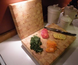 2x4 End Grain Cutting Board / Butcher Block