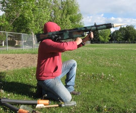 RPG with Paintball Rockets