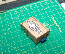 Simple Snap Together Raspberry Pi Wood Case