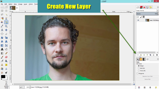 Create a New Transparent Layer
