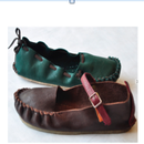 How to Make Ecological One-piece Moccashoes