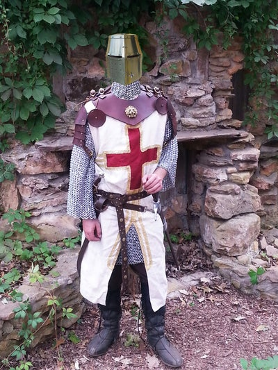 Battle Ready Medieval Leather Armor 9 Steps With Pictures