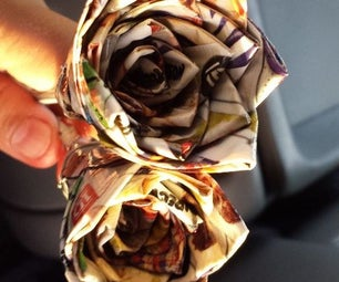 One Direction Duct Tape Flower