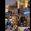 Around the Room: K'nex Ball Machine