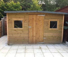 How to Build a Great Shed, Base Upwards