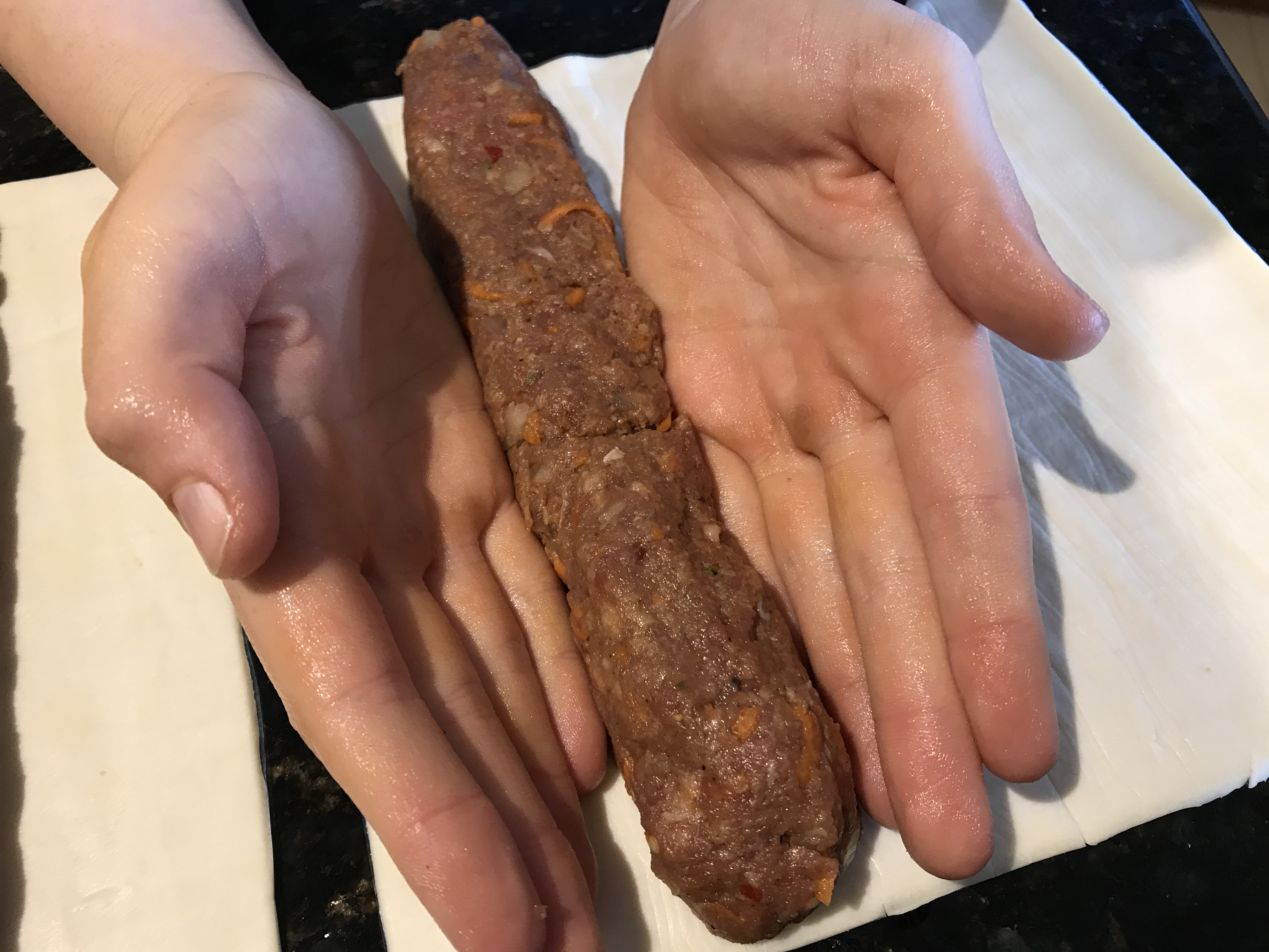 Picture of Form the Sausage Roll