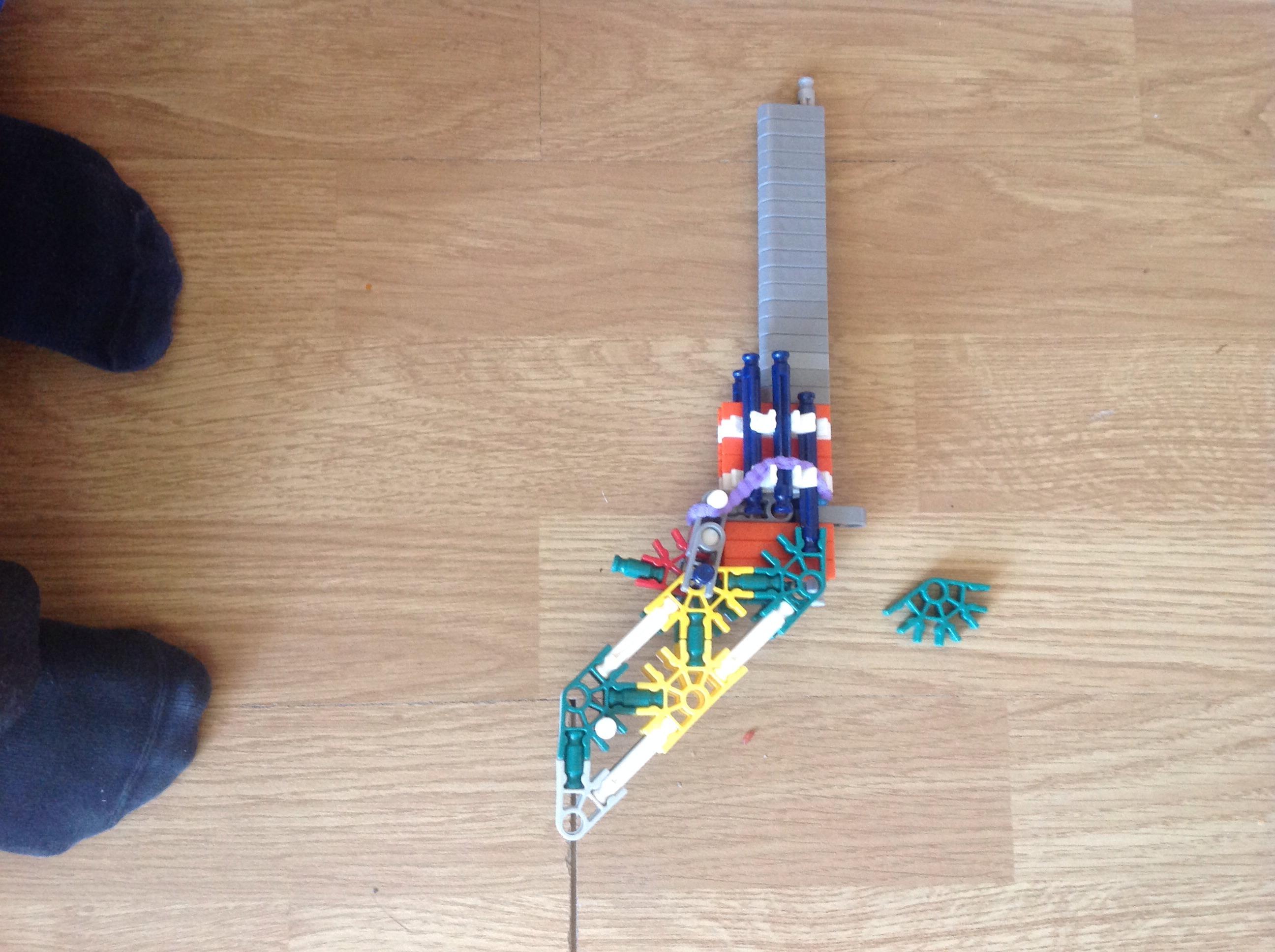 Picture of Knex Gun (magnum)