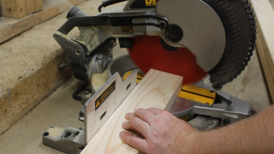 Cutting and Assembling the Legs