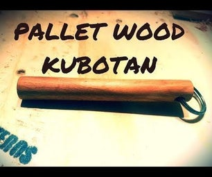 Pallet Wood Kubotan (or Just a Key Chain Dowel) :-)