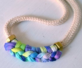 DIY Modern Boho Hippie Necklace