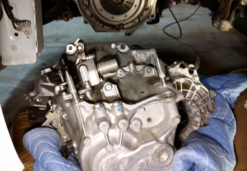 Picture of Remove the Transmission