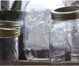 How to Reuse Glass Jars