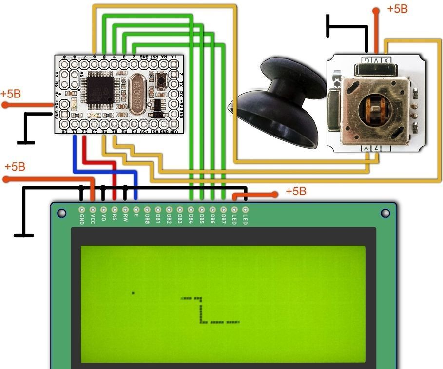 Arduino Looong Snake Game With LCD 16x4