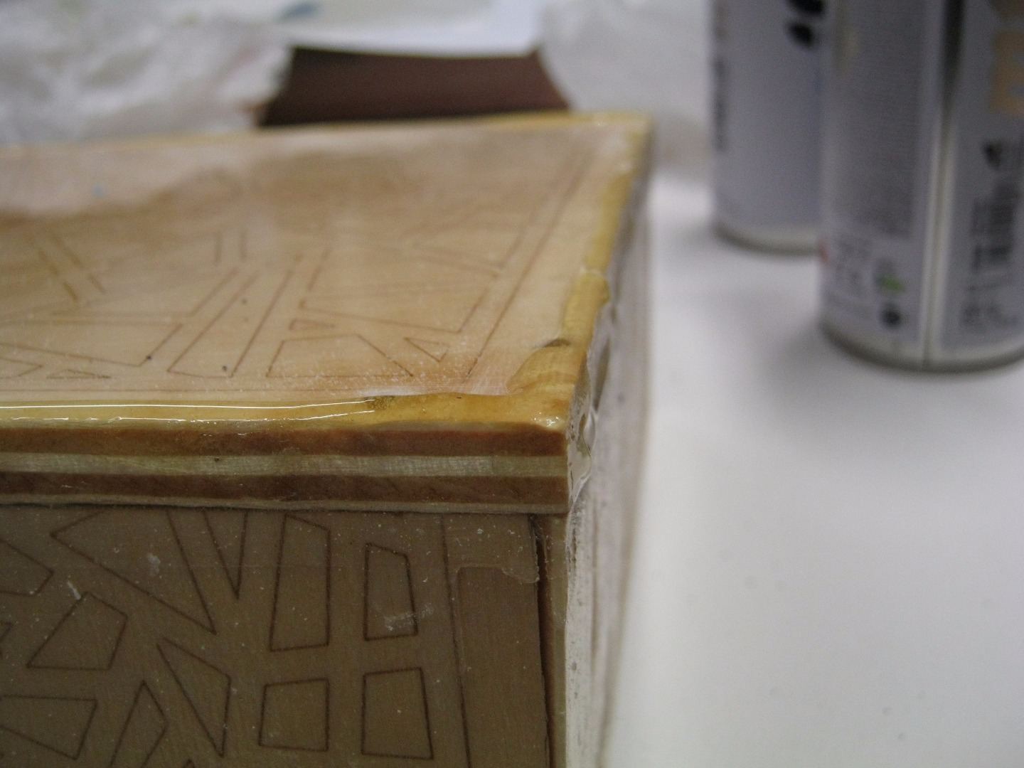 Picture of Leather Stripes for the Edges