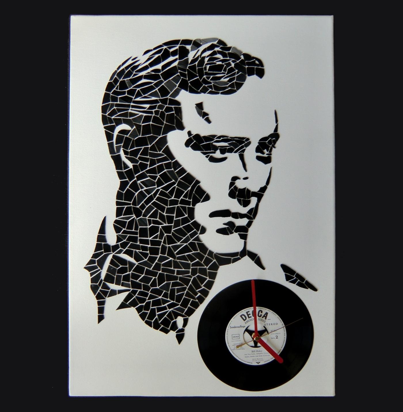 Picture of Bill Haley Vinyl Portrait