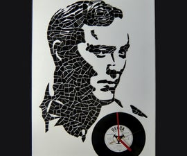Bill Haley vinyl portrait