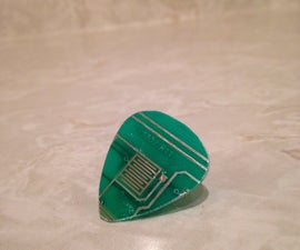 How To Make A Circuit Board Guitar Pick