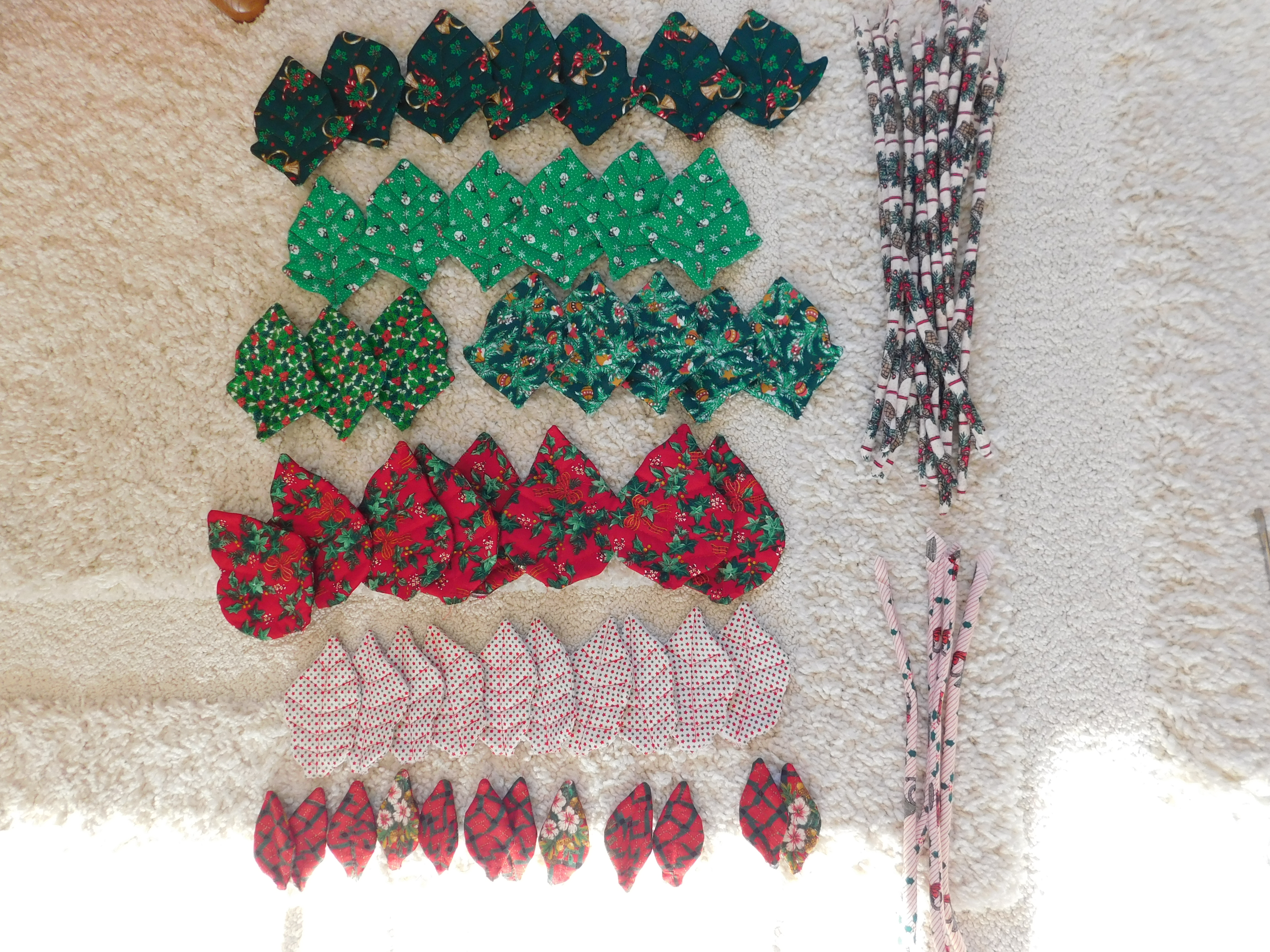 Picture of Sew Leaves to Stems