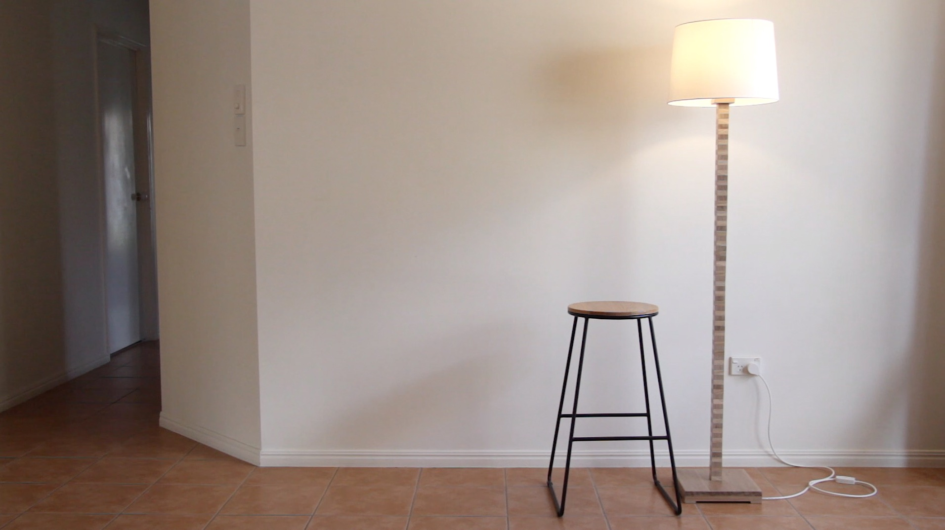 Picture of Plywood Inspired Floor Lamp