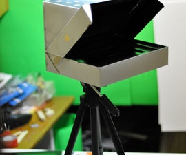 Cheap Teleprompter from iPad Box