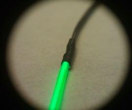 Easy way to solder EL wire!