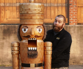 Building a Life-Size Nutcracker (that Can Crack Coconuts!)