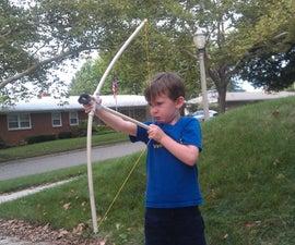 Preschooler Friendly Bow and Arrow