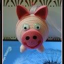 Quilled Piglet Tutorial