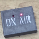 3D Printed on Air Sign With Flashing LEDs and CNC Milled Circuit Board