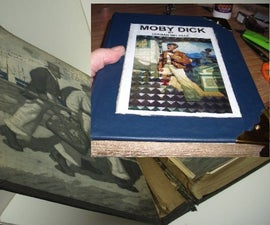 Repair an Old Classic Book (rebinding).