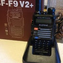 Baofeng FB-F9 V2+ Ham Radio Charging Stand Modification