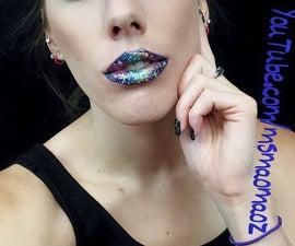Galaxy Lip Art!