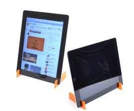 Ipad 2 laser cut stand