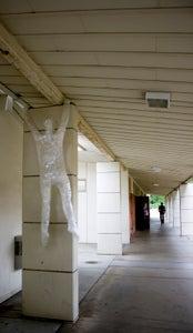 Plastic Wrap Sculptures!