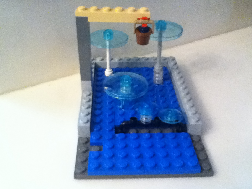 Picture of Lego Water Wiz Kitty Pool