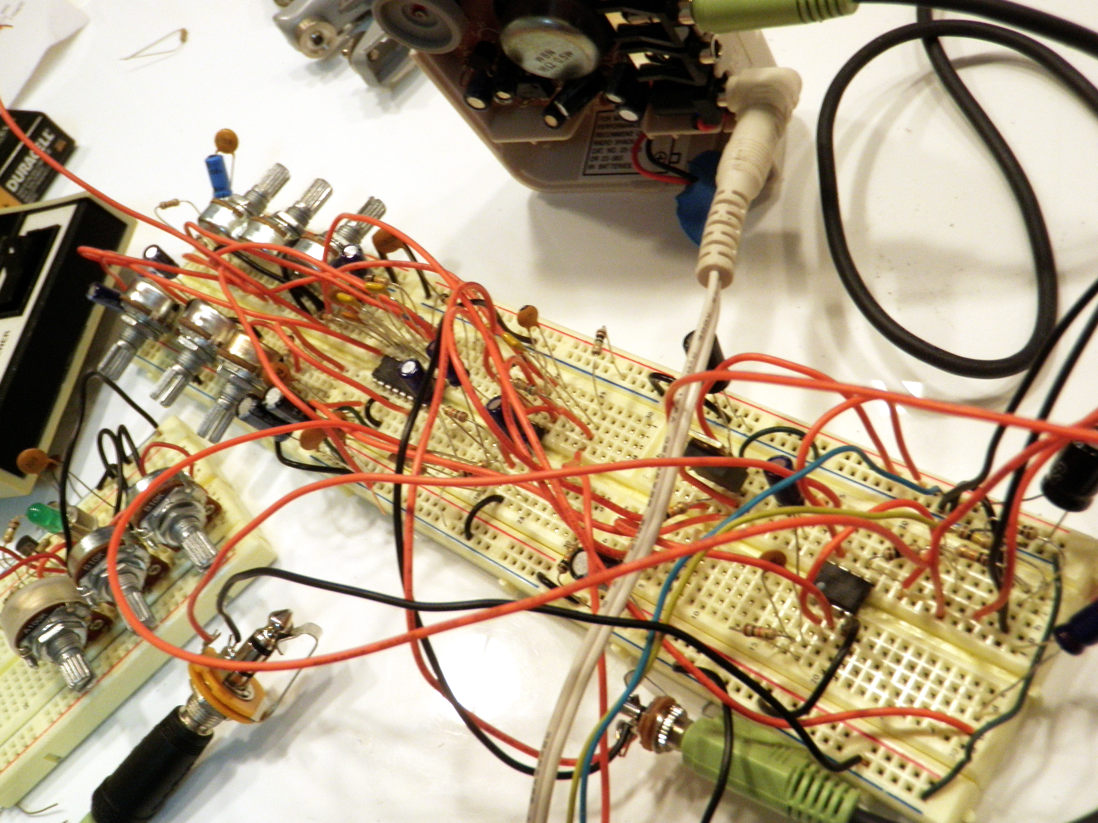 Picture of Breadboard the Circuit