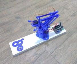Gesture Controlled Robotic Arm