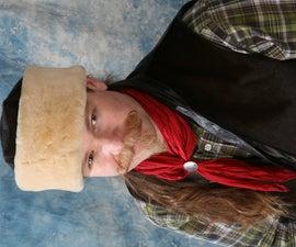 Sew a warm shearling hat